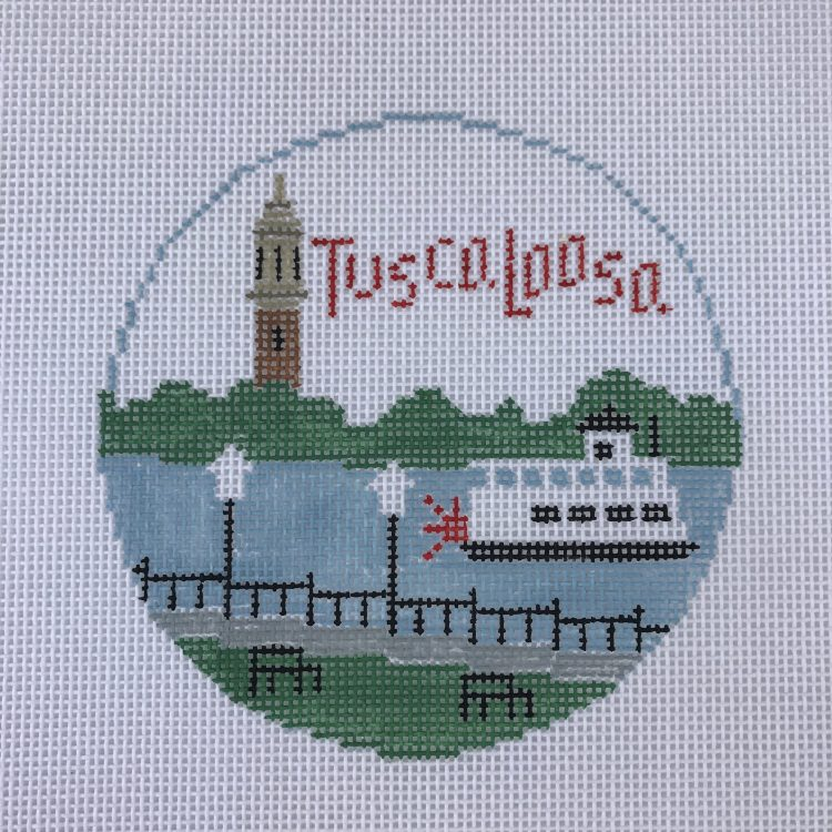 Tuscaloosa needlepoint canvas