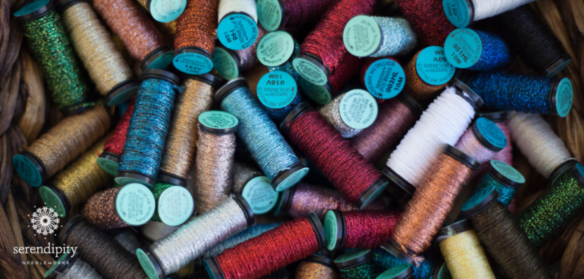 Kreinik metallic braids are available in more than 200 colors!